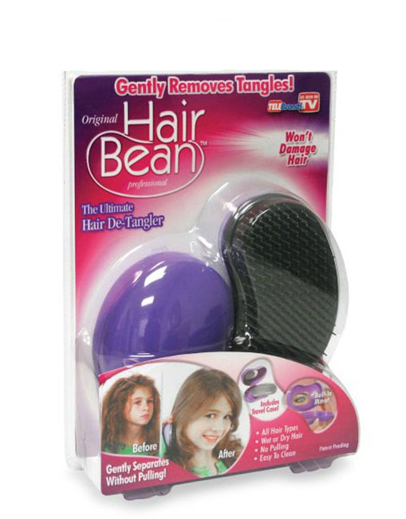 Hair Bean Gentle Detangler Brush As Seen On Tv Free Shipping